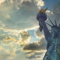 アメリカ・ニューヨーク市の自由の女神