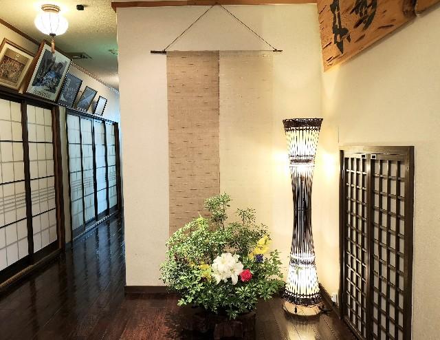 奈良県吉野郡・「花あかりの宿 柳屋」玄関