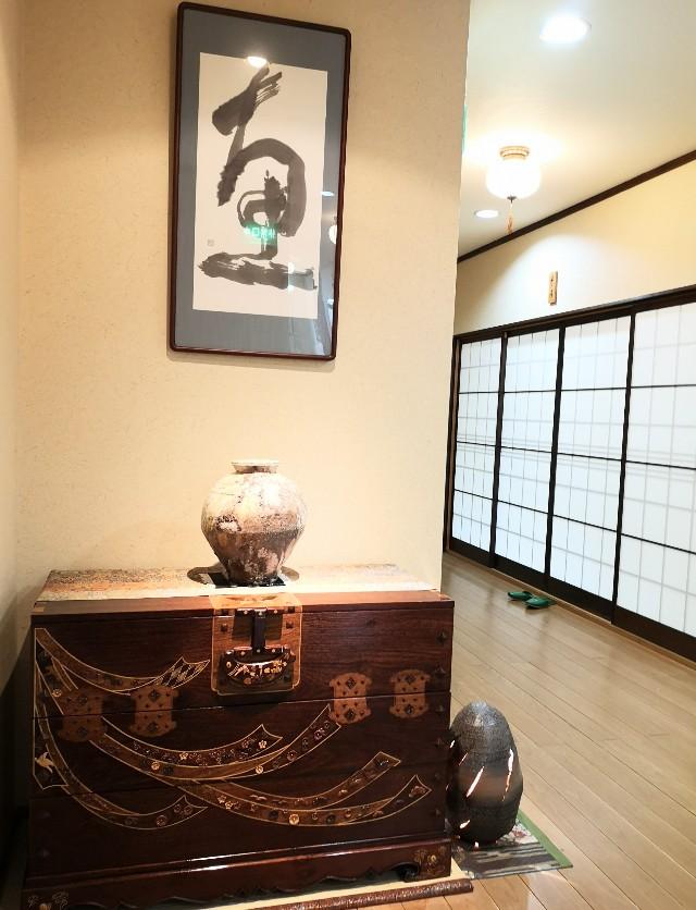 奈良県吉野郡・「花あかりの宿 柳屋」2階の内装