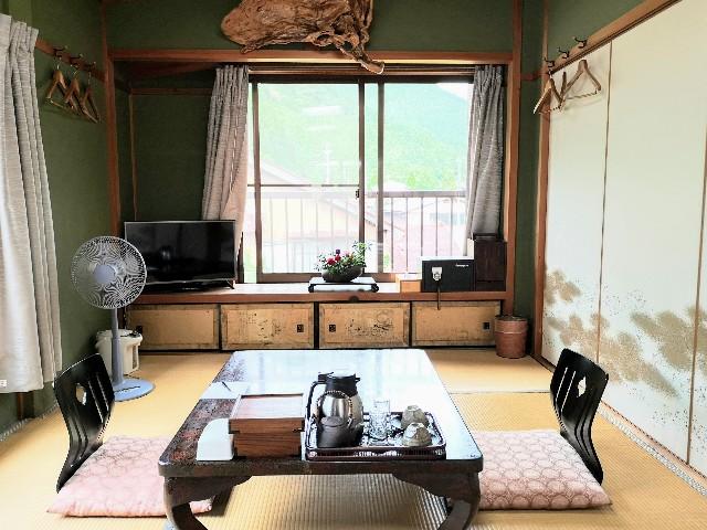 奈良県吉野郡・「花あかりの宿 柳屋」お部屋