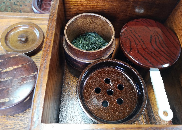 奈良県吉野郡・「花あかりの宿 柳屋」お部屋のお茶
