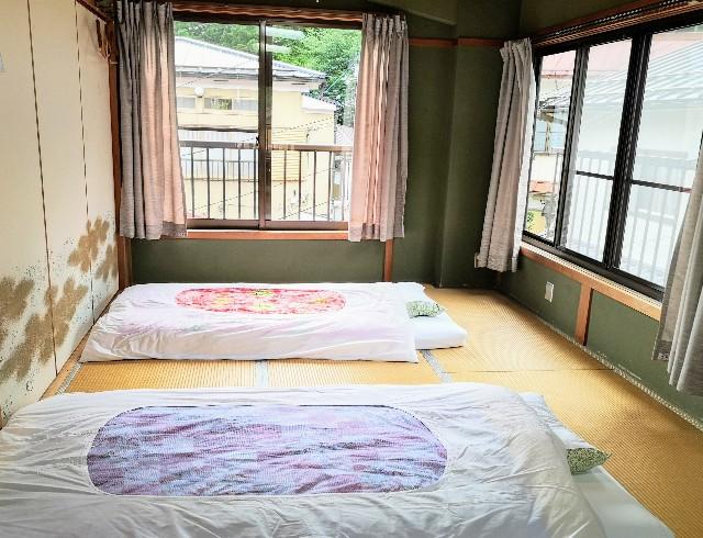 奈良県吉野郡・「花あかりの宿 柳屋」お部屋のお布団