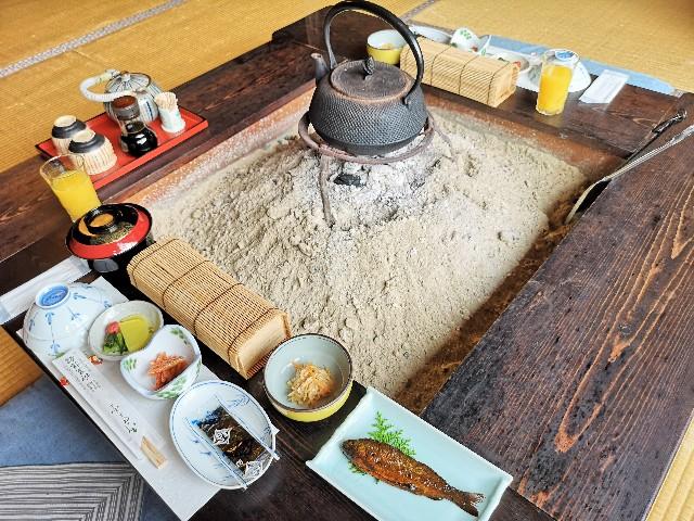 奈良県吉野郡・「花あかりの宿 柳屋」旬の地場産野菜料理と美味しい出汁まき玉子焼き朝食プラン