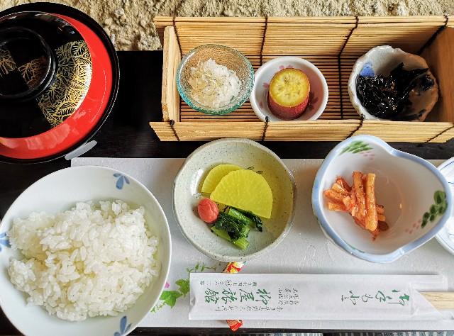 奈良県吉野郡・「花あかりの宿 柳屋」旬の地場産野菜料理と美味しい出汁まき玉子焼き朝食プラン3