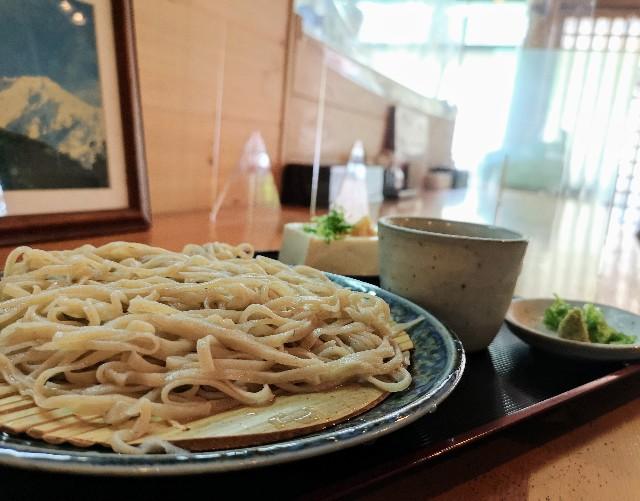 奈良県吉野郡・「そば処 清九郎」蕎麦