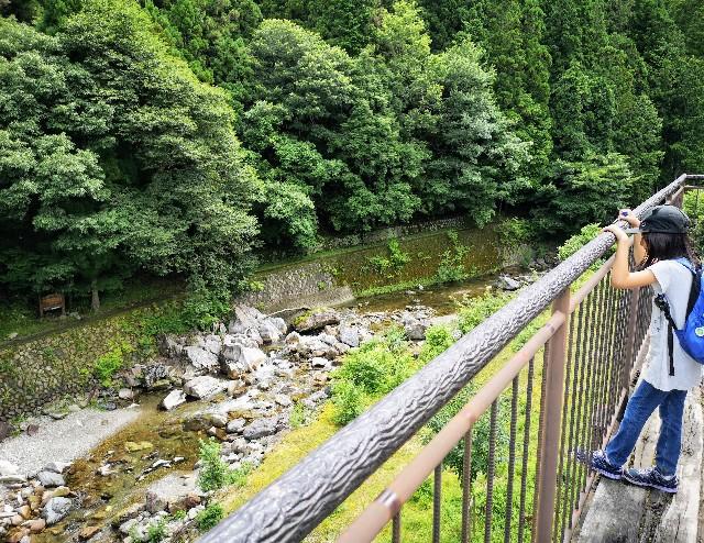 奈良県吉野郡・「ごろごろ茶屋」からの眺め