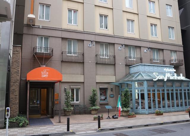 ホテルモントレ ラ・スールギンザ 外観