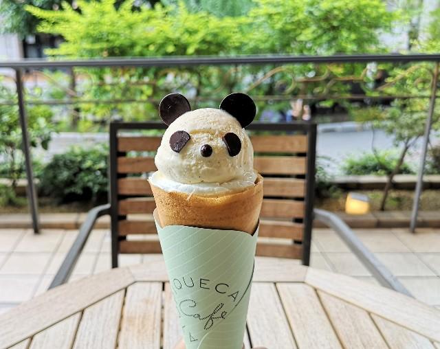 東京都豊島区・「ジェラート ピケ カフェ クレープリー ルミネ池袋店」・「everyday PANDA!〜パンダと過ごすスイーツな時間~」パンダクレープ4