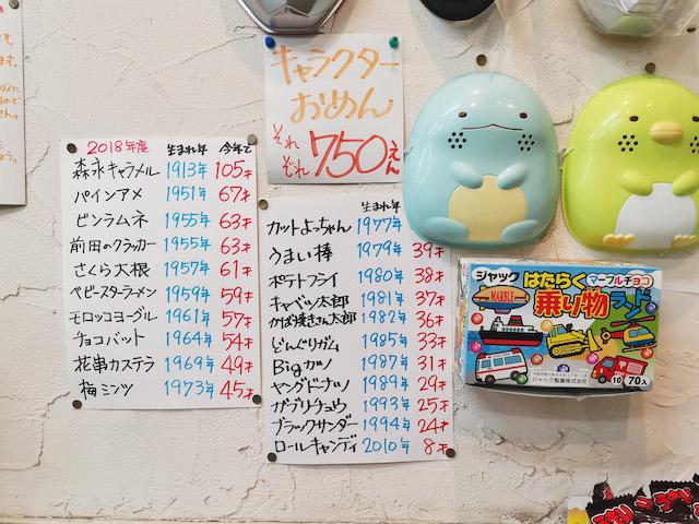 宮永篤史の駄菓子屋探訪12北海道函館市だがし屋ささき商店10
