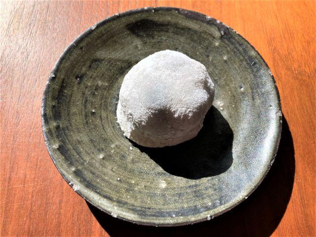 祇園饅頭 工場 塩まめ餅