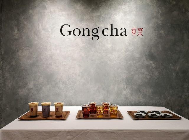 """東京都・「ゴンチャ(Gong cha)」・利きTEA""""NEWストレートティー 試しキャンペーン""""」「Gong cha Tea Dessert第1弾""""クレームブリュレ""""」試飲発表会"""