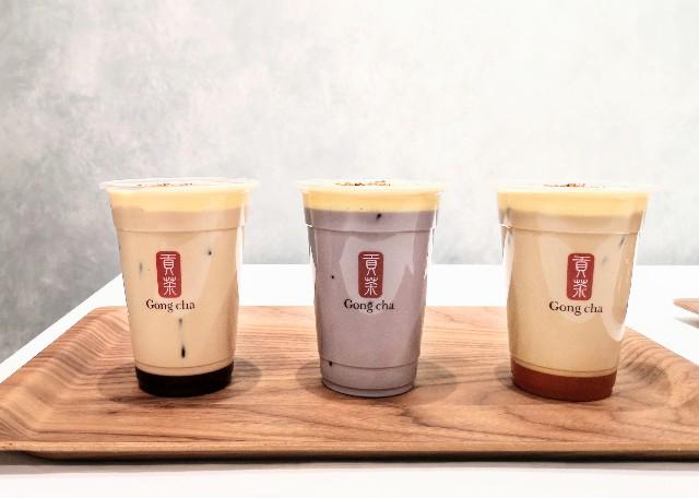 """東京都・「ゴンチャ(Gong cha)」・「Gong cha Tea Dessert第1弾""""クレームブリュレ""""」"""