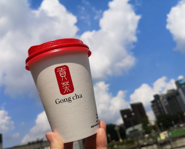 """東京都・「ゴンチャ(Gong cha)」・「Gong cha Tea Dessert第1弾""""クレームブリュレ""""」ホット2"""