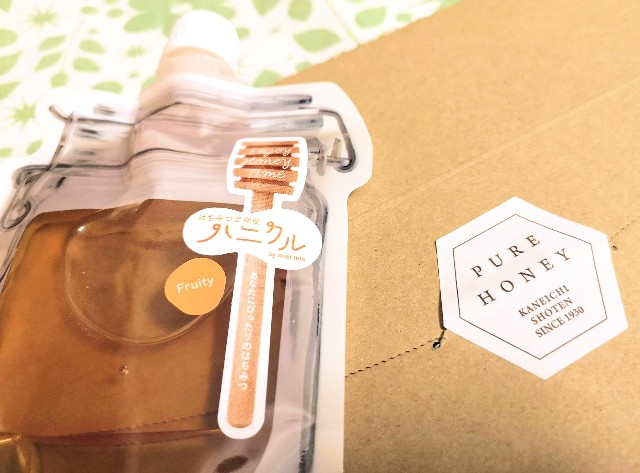 京都府京都市・蜂蜜専門店「ミールミィ」はちみつ定期便「ハニクル」9月のフルーティータイプの蜂蜜