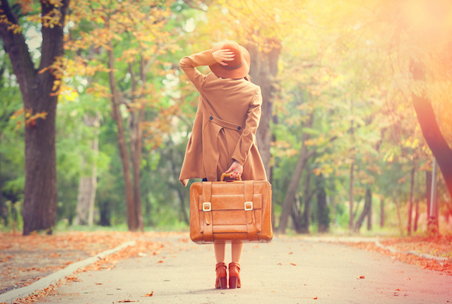 秋の旅のイメージ