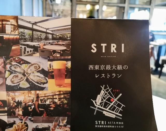 東京都町田市・「STRI(ストリ)」チラシ