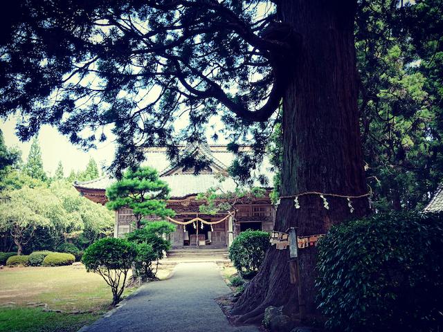 新潟県佐渡島の神社