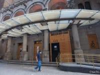 閉業したNew York Marriott East Side