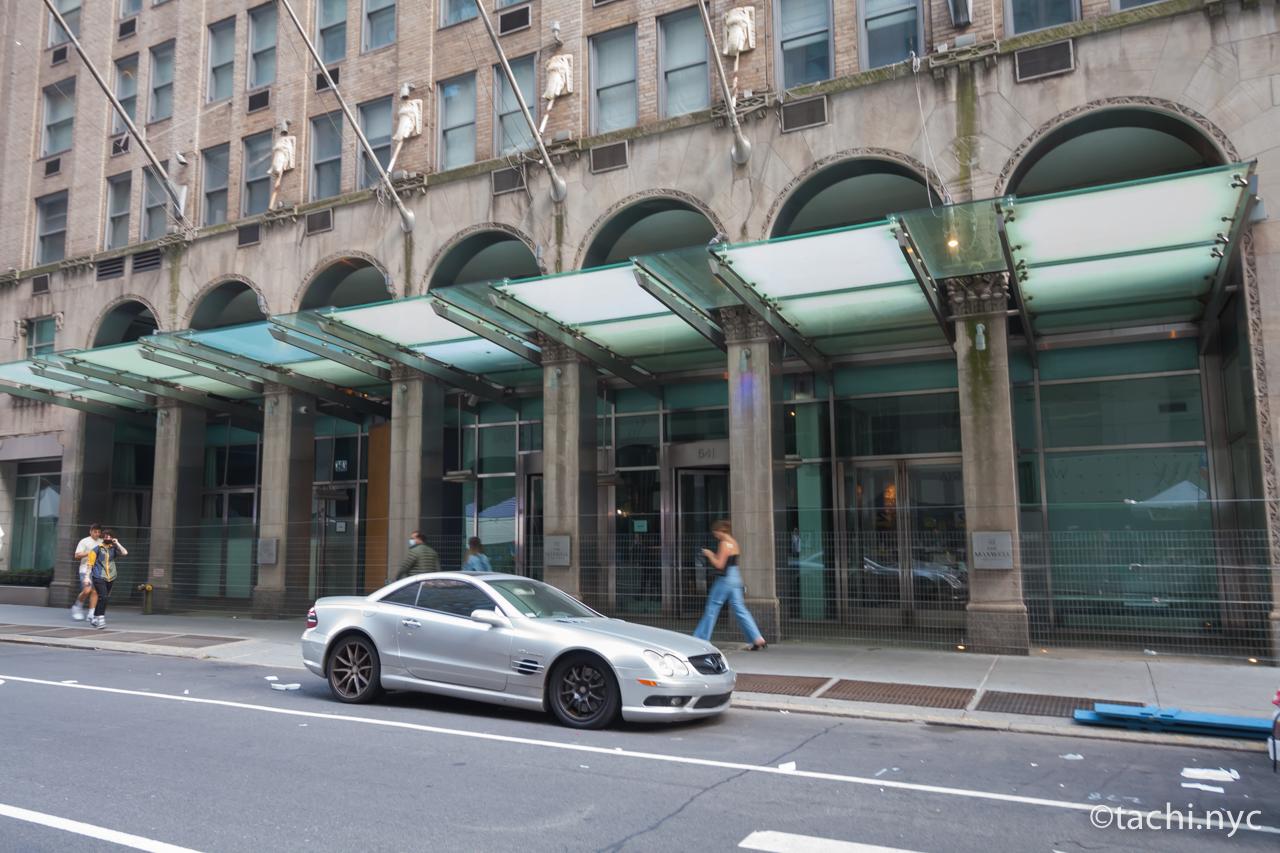 閉業したホテル The Maxwell