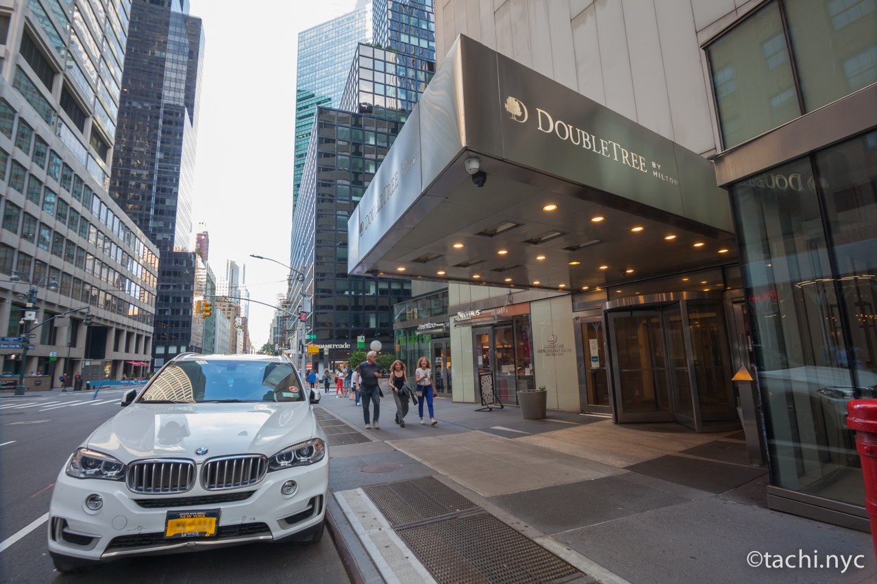 臨時休業中 The DoubleTree Metropolitan New York City hotel
