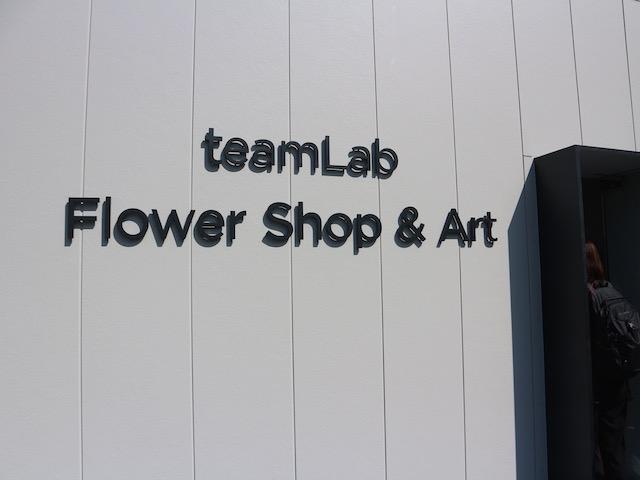 teamLab Flower Shop & Art