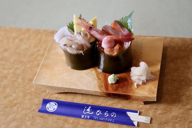 昆布を器にした海鮮丼も!「寿司ひらの」で極上の海の幸に酔いしれる<北海道浜中町の旅4>
