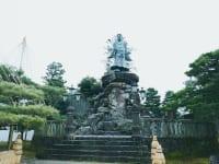 石川県金沢市兼六園の日本武尊像